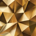 3476P4___gold_abstract_3d_rombs