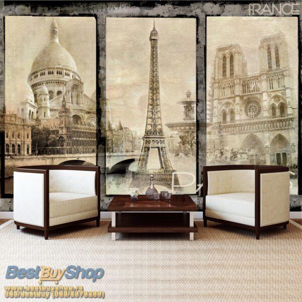 021p4-4 pariz ajfel kula sena francuska france paris razglednica fototapeta foto tapeta 3d tapete fototapet