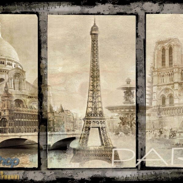 021p4 pariz ajfel kula sena francuska france paris razglednica fototapeta foto tapeta 3d tapete fototapet