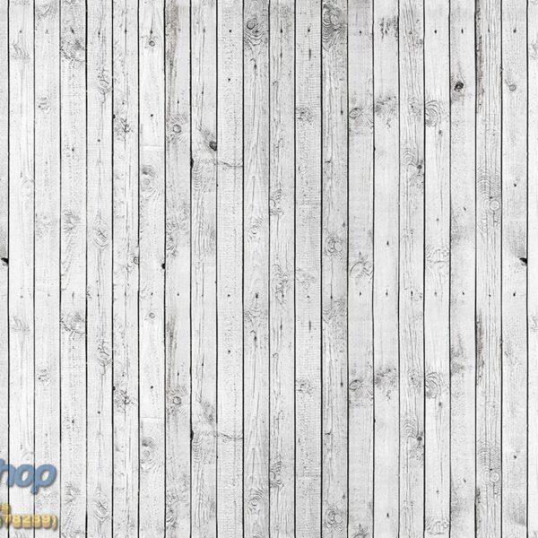 1013P4 wooden white wall
