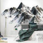 10631p4-5 planina vrh sneg fototapeta foto tapeta 3d tapete fototapet