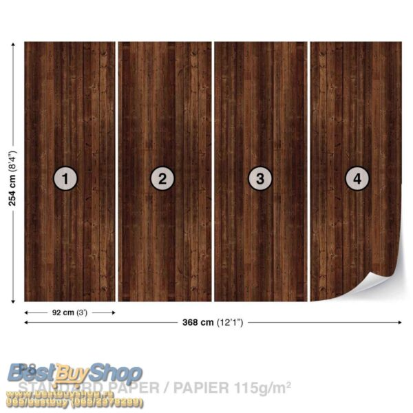 1088P8-2 daske drvo fototapeta foto tapeta 3d tapete fototapet
