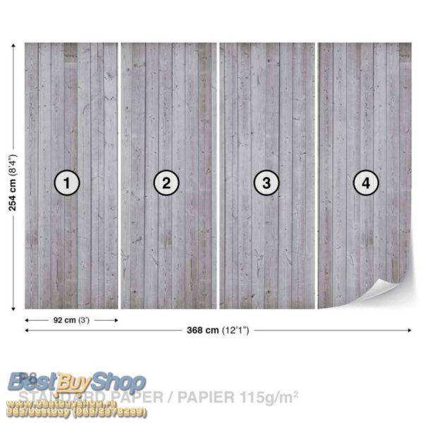 1096P8-2 drvo daske fototapeta foto tapeta 3d tapete fototapet