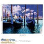 141p4-5 gondola venecija italija reka more fototapeta foto tapeta 3d tapete fototapet