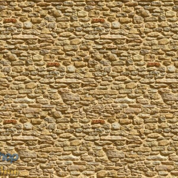 1929P8 stone wall old beige
