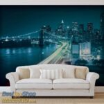 205P8-1 Brooklyn Bridge New York most njujork bruklin fototapeta foto tapeta 3d tapete fototapet