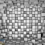 2505P8 stone wall 50 shades of gray