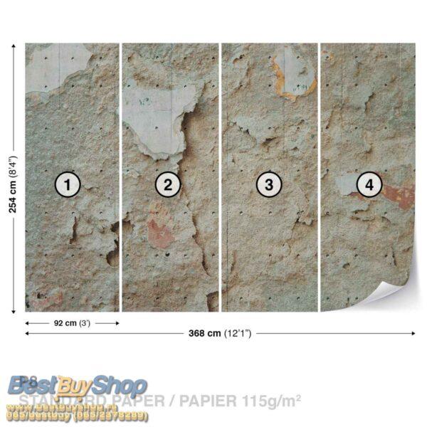 2694p8-1 beton malter vintage fototapeta foto tapeta 3d tapete fototapet