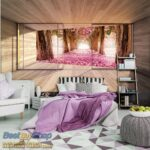 Bedroom with cozy bed