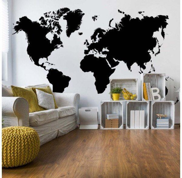 3604P8-1 maps mapa kontinenti svet karta crno belo fototapeta foto tapeta 3d tapete fototapet _02