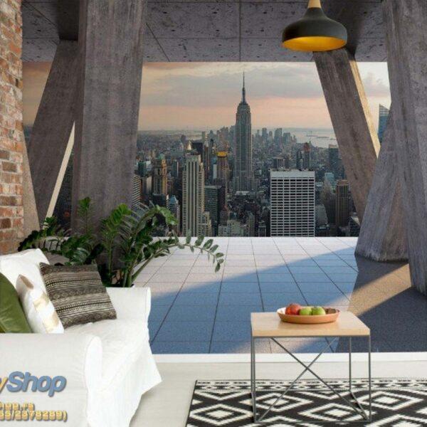 3649p8-2 new york njujork manhattan menhetn grad fototapeta foto tapeta 3d tapete fototapet