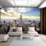 49645P8-3 49645p8 new york manhattan menhetn skyline njujork grad fototapeta foto tapeta 3d tapete fototapet