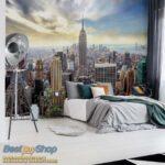 49645P8-7 49645p8 new york manhattan menhetn skyline njujork grad fototapeta foto tapeta 3d tapete fototapet