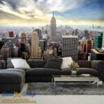 49645P8-8 49645p8 new york manhattan menhetn skyline njujork grad fototapeta foto tapeta 3d tapete fototapet