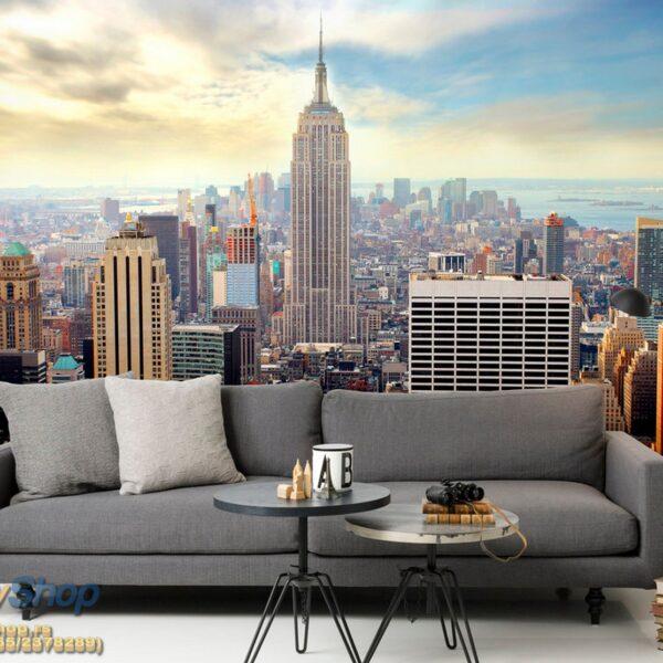 49645p8-4 49645p8 new york manhattan menhetn skyline njujork grad fototapeta foto tapeta 3d tapete fototapet