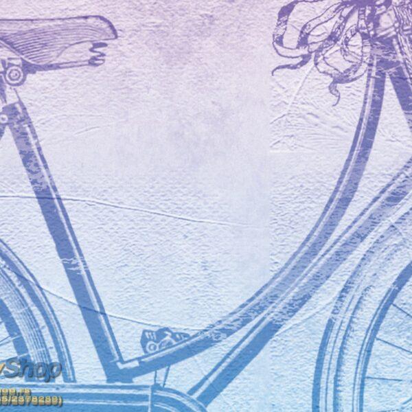 5175-4P-1p8-1 vintage bicycle bicikl cvece korpa fototapeta foto tapeta 3d tapete fototapet