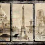 8-021p8 pariz ajfel kula sena francuska france paris razglednica fototapeta foto tapeta 3d tapete fototapet