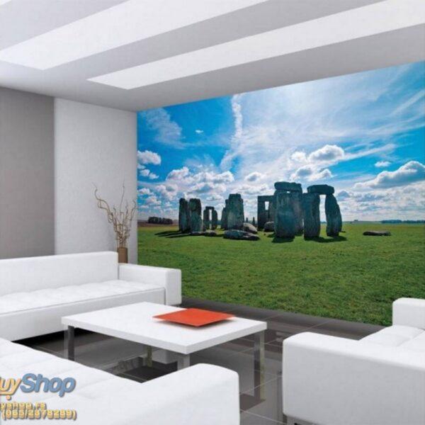8-119p8-6 stonehenge kamen spomenik engleska priroda fototapeta foto tapeta 3d tapete fototapet
