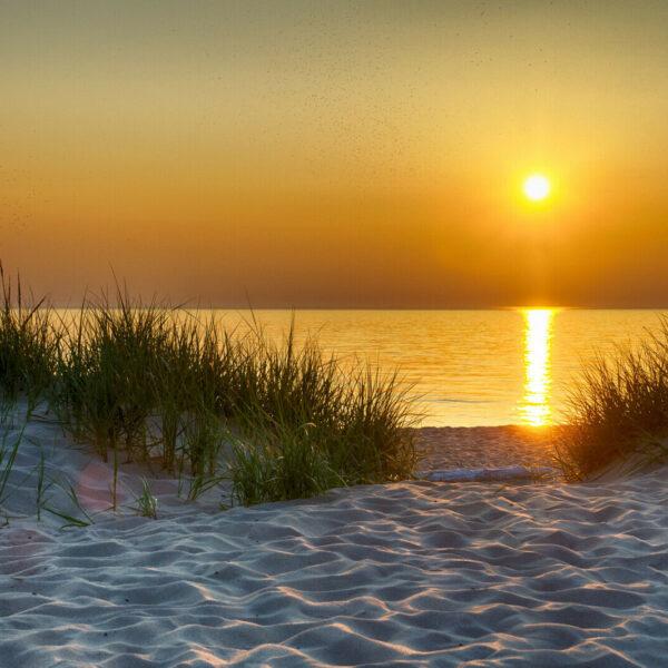 74121P8 sand dunes sunset